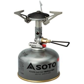 SOTO ソト 新富士バーナー マイクロレギュレーターストーブ ソト ストーブ シングルバーナー ガスバーナー OD カートリッジ コンロ ガス缶
