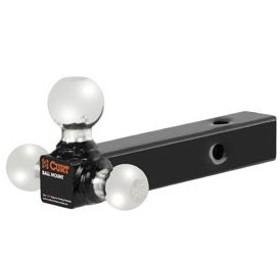 CURT 正規品 トレーラーヒッチ用 マルチボールマウント 2インチ角 メーカー保証付