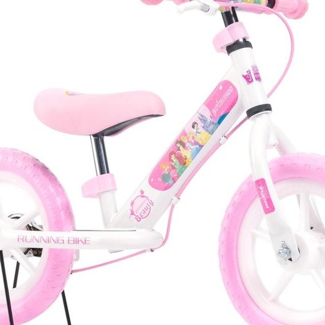 ディズニープリンセス ランニングバイク 12インチ MC-DP 自転車 幼児用 子供用 ペダルなし 代引不可