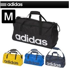 adidas アディダス ボストンバッグ リニアチームバッグ M ダッフルバッグ ショルダーバッグ スポーツバッグ ジム 部活