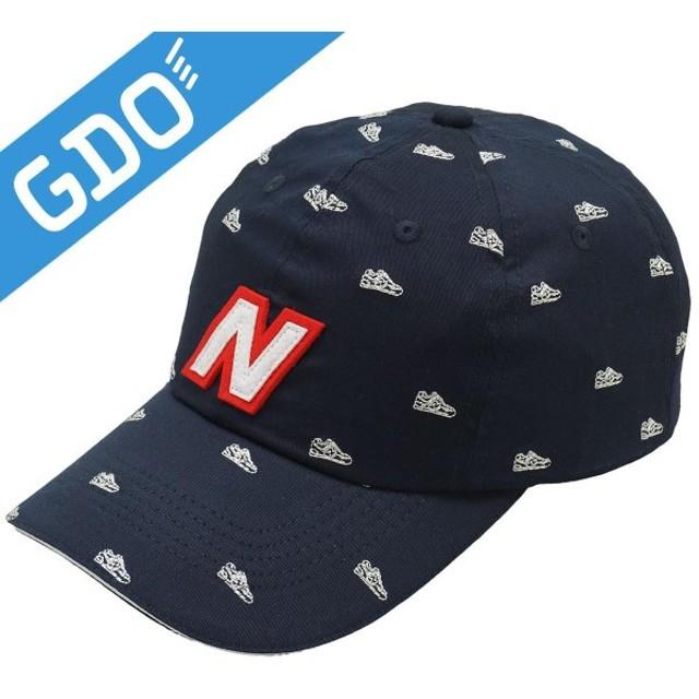df628584b296a ニューバランス New Balance METRO スニーカーモチーフ刺繍ツイルNキャップ 012-7187513 レディス 帽子