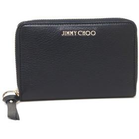 【返品保証】 ジミーチュウ コインケース レディース JIMMY CHOO ネイビー