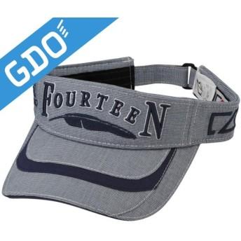 フォーティーン FOURTEEN ゴルフウェア メンズ 帽子 バイザー CBF0201 帽子