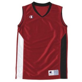 チャンピオン champion ジュニアゲームシャツ mini basketball game boy's cbyr2032-r