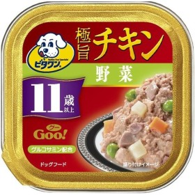 日本ペットフード ビタワン グー チキン 野菜 11歳以上
