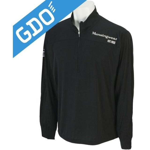 マンシングウェア Munsingwear ハーフジップブルゾン SG6347 アウター(ブルゾン、ウインド、ジャケット)
