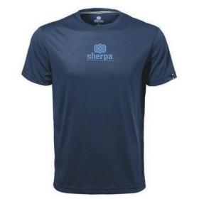 シェルパ sherpa ヒーローT ラシー/サーカーブルー Tシャツ 半袖 速乾 ドライリリース メンズ JPモデル 日本仕様 SM519