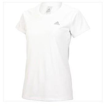 adidas アディダス t-shirt short at レディース uv s/s t women ca884 ホワイト z46208 m