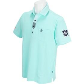 マンシングウェア Munsingwear ストレッチ半袖ニットポロシャツ