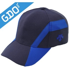 デサントゴルフ DESCENTE GOLF 曲線デザインキャップ