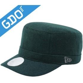 ニューエラ ゴルフライン ADJ MELTON ワークキャップ 帽子