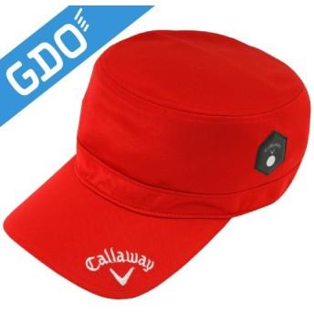 キャロウェイゴルフ Callaway Golf ゴルフウェア メンズ 帽子 エステルスムースワークキャップ 241-184570 帽子