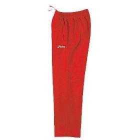 アシックス asics ジャムジー asパンツ xat270 カラー:レッド 23 training suit ウェア