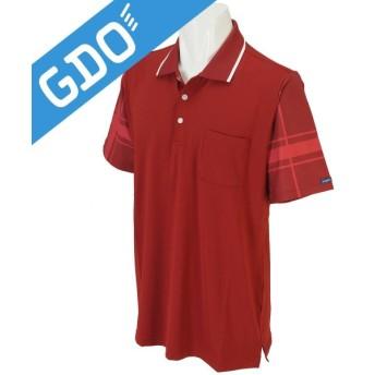 フィドラ FIDRA ストレッチプリント袖半袖ポロシャツ