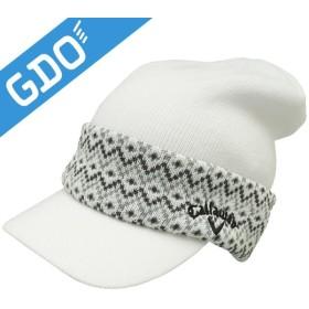 0d9fbca38a0553 キャロウェイゴルフ Callaway Golf ツバ付きニットキャップ 241-6284519 帽子