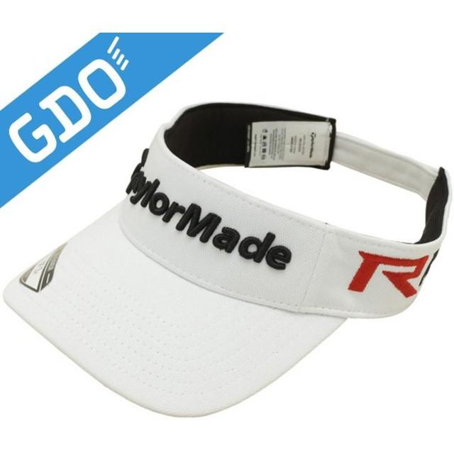 テーラーメイド Taylor Made ゴルフウェア メンズ 帽子 TM 15 ツアーレイダー バイザー SQ535 帽子