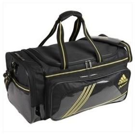adidas(アディダス) do300 adidas professional ダッフルバッグm z53766 ブラック×メタリックゴールド