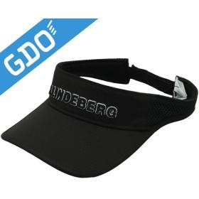 J.リンドバーグ J.LINDEBERG ウェーブサンバイザー 083-55302 帽子