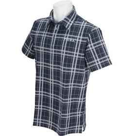 フィドラ FIDRA チェック半袖ポロシャツ