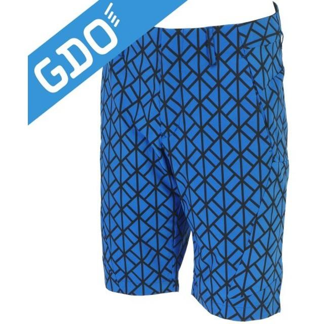 デサントゴルフ DESCENTE GOLF ストレッチ スピリットアーガイル ショートパンツ DGM5516S ハーフパンツ
