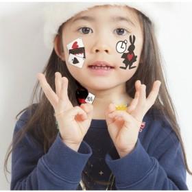 KIDSシール アリスお茶会 キッズ ハロウィン ハロウィン 仮装 パレード メイクアップ コスプレ