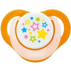 コンビ テテオおしゃぶり 入眠ナビ サイズS スウィートオレンジ (対象月齢:0ヶ月〜3ヶ月頃まで)(P)