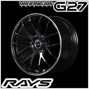 RAYS レイズ VOLK RACING G27 ボルクレーシング G27 19インチ 8.5J PCD:120 穴数:5 インセット:36