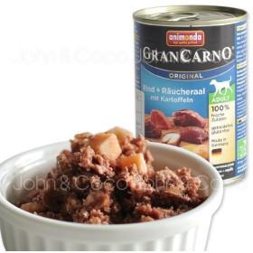 アニモンダ グランカルノ アダルト 牛肉・アナゴ・野菜400g
