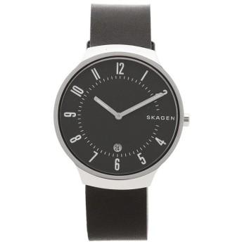 スカーゲン 腕時計 メンズ SKAGEN SKW6459 ブラック シルバー
