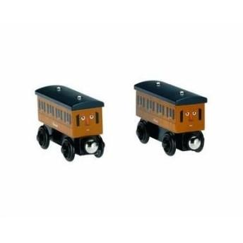 マテルインターナショナル Y4422 アニーとクララベル 〔つみき・木製玩具〕〔トーマス〕