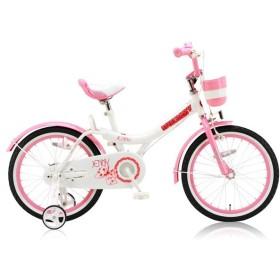 ロイヤルベビー RB-Jenny18 キッズバイク 自転車 23083 ピンク 代引き不可