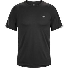 アークテリクス ARC'TERYX Cormac Crew SS Mens Black コーマック クルー tシャツ 半袖 トレラン ウェア