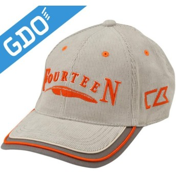 フォーティーン FOURTEEN ゴルフウェア メンズ 帽子 キャップ CBF0204 帽子