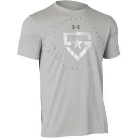 アンダーアーマー(UNDER ARMOUR) テックTシャツ ヒーターロゴ UA TECH HEATER LOGO 075:BGY 1313379 野球 ウェア 半袖 メンズ