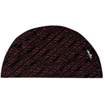 エレッセ(ellesse) スイムキャップ ブラック/レッド ESC0716 KR スイムキャップ 水泳帽