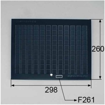 LIXIL リクシル トステム レンジフード用グリスフィルター 型式:CSF102601T 商品コード : KKZFB089