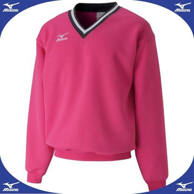 スウェットシャツ (64ピンク)  MIZUNO ミズノ テニス ウエア スウェットスーツ (A75LM25064)