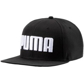 プーマ(PUMA) メンズ レディース 帽子 フラットブリム キャップ ブラック AD 021460 01 ランニング アクセサリー