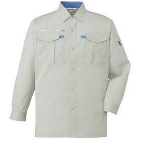 自重堂 長袖シャツ 017/アイボリー ELサイズ 45004 作業着 仕事着 作業服 ワークウェア トップス
