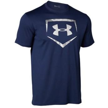 アンダーアーマー(UNDER ARMOUR) テックTシャツ UA TECH BASEBALL LOGO 410:MDN 1313588 野球 ウェア Tシャツ 半袖 トップス メンズ