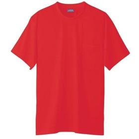 桑和(SOWA) 半袖Tシャツ(P) 43/レッド SS〜3Lサイズ 50381 作業着 作業服 ワークウェア ウエア トップス メンズ