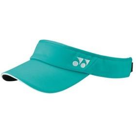 ヨネックス(YONEX) ウィメンズサンバイザー エメラルドグリーン 40040 750 テニス・バドミントン 帽子 サンバイザー レディース
