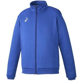 アシックス(asics) メンズ トレーニングジャケット ブルー XAT146 45 トレーニングウェア 上着 長袖 スポーツウェア アウター