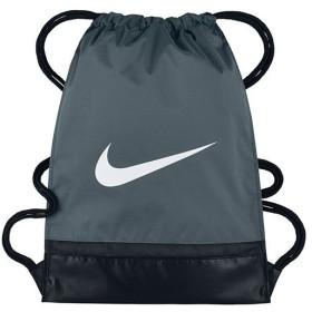 ナイキ(NIKE) ブラジリア ジムサック フリントグレー/ブラック/ホワイト MISC BA5338 064 スポーツバッグ ナップサック ジムバッグ 鞄 メンズ レディース