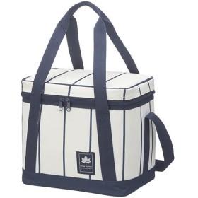 ロゴス(LOGOS) キャンプ クーラーボックス デザインクーラー15 (ピンストライプ) 81670713 アウトドア クーラーバッグ 保冷バッグ