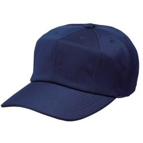 エスエスケイ(SSK) 角ツバ8方型ベースボールキャップ BC081 ネイビー 野球 帽子