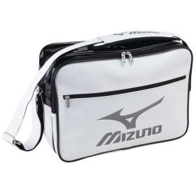 ミズノ(Mizuno) 33JS6010 01 ショルダーバッグ(L) エナメルバッグ (大型)