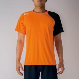【在庫処分】ミズノ プラクティスシャツ メンズ オレンジクラウンフィッシュ Mizuno U2MA7041 54