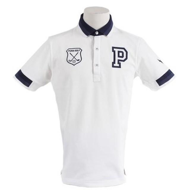 プーマ(PUMA) ゴルフウェア メンズ グラデーションリブポロシャツ 923684-04 (Men's)
