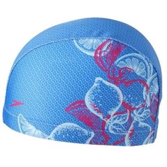 スピード(speedo) トリコットキャップ ブルー F SD97C44 BL スイムキャップ 水泳帽